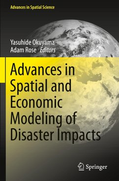 Advances in Spatial and Economic Modeling of Disaster Impacts