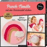 "Punch-Needle Starter-Set ""Glitzer-Regenbogen"""