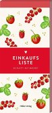 Einkaufsliste (Rote Beeren, Küchenpapeterie)