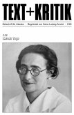 TEXT + KRITIK 228 - Gabriele Tergit (eBook, PDF)