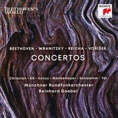 Beethoven'S World - Concertos - Goebel/Münchner Rf-Orch./Mönkemeyer/Koncz/Tal/+