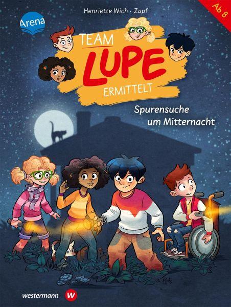 Buch-Reihe Team Lupe ermittelt