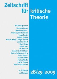 Zeitschrift für kritische Theorie / Zeitschrift für kritische Theorie, Heft 28/29 (eBook, PDF)
