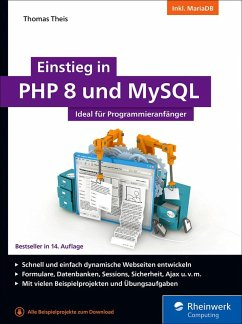 Einstieg in PHP 8 und MySQL (eBook, ePUB) - Theis, Thomas
