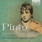 Pinto:Sonatas For Piano And Violin