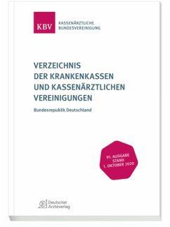 Verzeichnis der Krankenkassen und Kassenärztlichen Vereinigungen