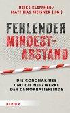 Fehlender Mindestabstand (eBook, PDF)