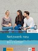 Netzwerk neu B1.1. Kurs- und Übungsbuch mit Audios und Videos
