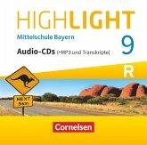 Highlight - Mittelschule Bayern - 9. Jahrgangsstufe CD-Extra - Für R-Klassen - Audio-CDs mit MP3-Dateien