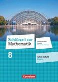 Schlüssel zur Mathematik - Differenzierende Ausgabe Oberschule Sachsen - 8. Schuljahr Arbeitsheft - Basis mit Lösungsbei
