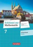 Schlüssel zur Mathematik 7. Schuljahr. Oberschule Sachsen - Arbeitsheft Basis mit Lösungsbeileger