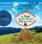 Bei Föhn brummt selbst dem Tod der Schädel / Kommissar Jennerwein ermittelt Bd.14 (2 MP3-CDs)