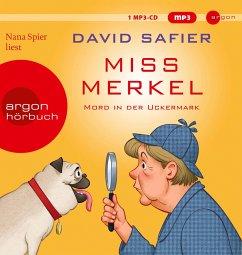 Miss Merkel, 1 MP3-CD - Safier, David