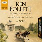 Die Pfeiler der Macht / Die Brücken der Freiheit / Die Nadel (3 MP3-CDs)