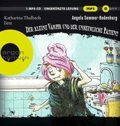 Der kleine Vampir und der unheimliche Patient / Der kleine Vampir Bd.9 (1 MP3-CD) - Sommer-Bodenburg, Angela
