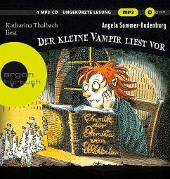 Der kleine Vampir liest vor / Der kleine Vampir Bd.8 (1 MP3-CD) - Sommer-Bodenburg, Angela