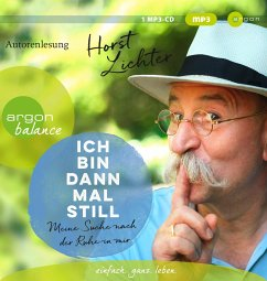 Ich bin dann mal still, 1 MP3-CD - Lichter, Horst