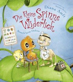 Besuch beim Doktor / Die kleine Spinne Widerlich Bd.8 (eBook, ePUB) - Amft, Diana