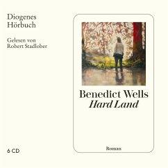 Hard Land, 6 Audio-CD - Wells, Benedict