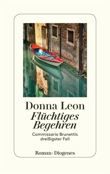 Buch-Reihe Commissario Brunetti von Donna Leon