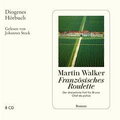Französisches Roulette / Bruno, Chef de police Bd.13 (8 Audio-CDs) - Walker, Martin