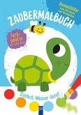 Zaubermalbuch - Schildkröte (blau)
