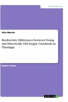 Biodiversity Differences between Young and Historically Old Steppe Grasslands in Thuringia