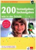 200 Textaufgaben/Sachaufgaben wie in der Schule 1.-4. Klasse (Restauflage)