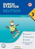 Durchstarten 3. Klasse - Deutsch Mittelschule/AHS - Lernhilfe