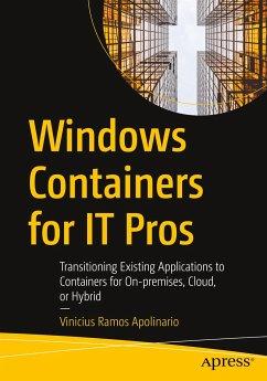 Windows Containers for IT Pros - Ramos Apolinario, Vinicius