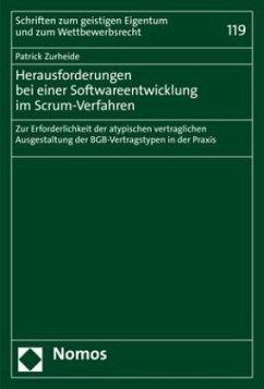 Herausforderungen bei einer Softwareentwicklung im Scrum-Verfahren - Zurheide, Patrick