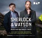 Die Bestie von Grimpen oder Der Hund der Baskervilles / Sherlock & Watson - Neues aus der Baker Street Bd.8 (2 Audio-CDs)