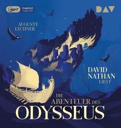 Die Abenteuer des Odysseus, 1 Audio-CD, 1 MP3 - Lechner, Auguste