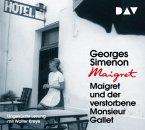Maigret und der verstorbene Monsieur Gallet / Kommissar Maigret Bd.2 (4 Audio-CDs)
