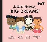 Little People, Big Dreams - Ella Fitzgerald, Jane Austen, Coco Chanel, Muhammad Ali