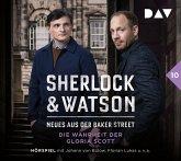 Die Wahrheit der Gloria Scott / Sherlock & Watson - Neues aus der Baker Street Bd.10 (2 Audio-CDs)