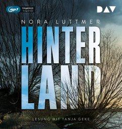 Hinterland, 1 MP3-CD - Luttmer, Nora