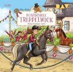 Ponys flunkern nicht / Ponyschule Trippelwick Bd.4 (2 Audio-CDs)