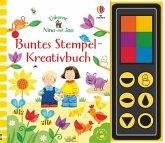 Nina und Jan - Buntes Stempel-Kreativbuch