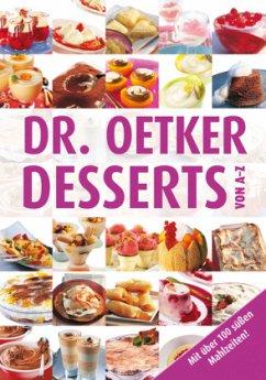 Dr. Oetker Desserts von A-Z (Mängelexemplar) - Oetker
