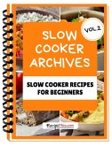Slow Cooker Cookbook For Beginners - Volume 2 (eBook, ePUB)