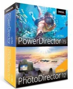 CyberLink PowerDirector 19 Ultra & PhotoDirector 12 Ultra Duo, 1 DVD-ROM