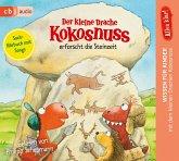 Der kleine Drache Kokosnuss erforscht die Steinzeit / Der kleine Drache Kokosnuss - Alles klar! Bd.7 (1 Audio-CD)