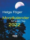 Mondkalender für jeden Tag 2022 Taschenkalender