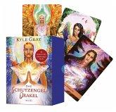 Das Schutzengel-Orakel. Buch mit 44 Karten