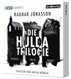 Die Hulda-Trilogie - Dunkel - Insel - Nebel, 3 MP3-CD