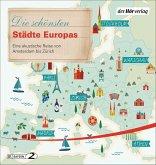 Die schönsten Städte Europas, 5 Audio-CD
