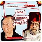 Wilfried malmsheimert und Jochen schmicklert - Lies meinen Text, 2 Audio-CD