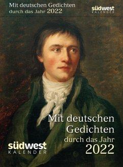 Mit deutschen Gedichten durch das Jahr 2022 Tagesabreißkalender