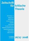 Zeitschrift für kritische Theorie / Zeitschrift für kritische Theorie, Heft 26/27 (eBook, PDF)